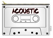Acoustic Music Tape Cassette Carry-all Pouch