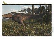 Acrocanthosaurus Dinosaur Roaming Carry-all Pouch