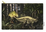 Acrocanthosaurus Hunting Tenontosaurus Carry-all Pouch