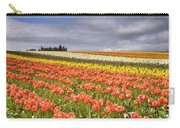 Across Colorful Fields Carry-all Pouch by Mike  Dawson