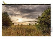 Across Golden Grass Carry-all Pouch by Nick Bywater
