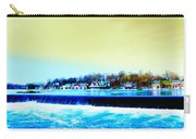 Across The Dam To Boathouse Row. Carry-all Pouch