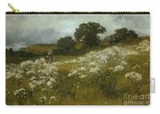 Across The Fields Carry-all Pouch by John Mallord Bromley