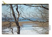 Across The Marsh To Woodneck Beach - Cape Cod Carry-all Pouch
