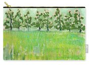 Across The Meadow Carry-all Pouch by Jennifer Lommers