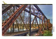 Across The Water 6th Street Rr Bridge Augusta Georgia Art Carry-all Pouch