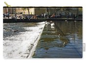 Across The Weir At Bakewell Carry-all Pouch