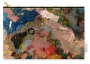 Acryl Color Abstract Carry-all Pouch