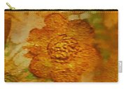 Acryl Painting Goldflowers Carry-all Pouch