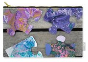 Acrylic Pouring Puzzle Pieces Carry-all Pouch