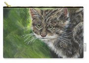 Acrylic Scottish Wildcat  Carry-all Pouch