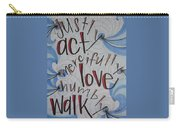 Act Love Walk Carry-all Pouch