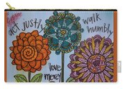 Act Walk Love Carry-all Pouch