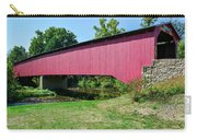 Adairs/cisna Mill Covered Bridge Carry-all Pouch
