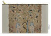 Adam & Eve Embroidered Picture Carry-all Pouch