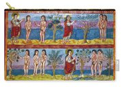 Adam And Eve. 9th Century Carry-all Pouch