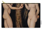 Adam And Eve In The Garden Of Eden Carry-all Pouch