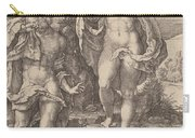 Adam And Eve Lamenting The Death Of Abel Carry-all Pouch