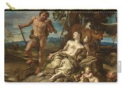 Adam And Eve With The Infants Cain And Abel Carry-all Pouch