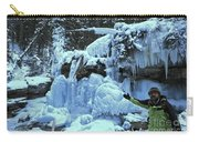 Adam Jewell Hiking In Maligne Canyon Carry-all Pouch