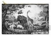 Adam Naming Creatures Carry-all Pouch