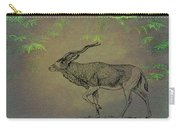 Addax Antelope Carry-all Pouch