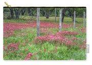 Adding A Splash Of Color-indian Paintbrush In Texas Carry-all Pouch