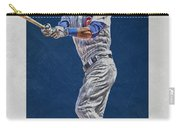 Addison Russell Chicago Cubs Art Carry-all Pouch