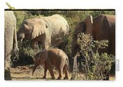 Addo Elephant Family Carry-all Pouch