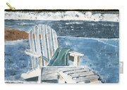 Adirondack Chair Carry-all Pouch by Debbie DeWitt