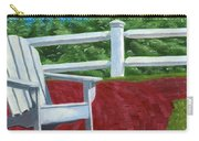 Adirondack Chair On Cape Cod Carry-all Pouch