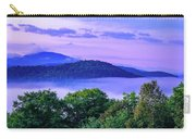 Adirondack Mountains In Fog Carry-all Pouch