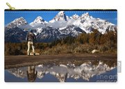 Admiring The Teton Sights Carry-all Pouch