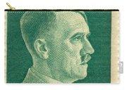 Adolf Hitler 42 Pfennig Stamp Classic Vintage Retro Carry-all Pouch