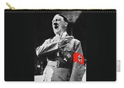 Adolf Hitler Arm Over Chest Circa 1934-2015 Carry-all Pouch