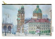 Adolf Hitler Painting Ordensplatzcu Carry-all Pouch