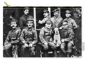 Adolf Hitler With  Fellow Soldiers From The List Regiment  Number Two Circa 1916 Carry-all Pouch