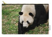 Adorable Face Of A Black And White Giant Panda Bear Carry-all Pouch