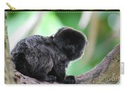 Adorable Goeldi's Marmoset In A Tree Carry-all Pouch