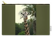 Adorable Grinning Giraffe Carry-all Pouch