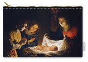 Adoration Of The Child Carry-all Pouch