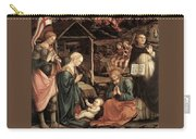 Adoration Of The Child With Saints 1460 65 Fra Filippo Lippi Carry-all Pouch