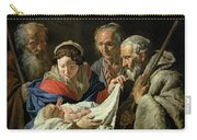 Adoration Of The Infant Jesus Carry-all Pouch
