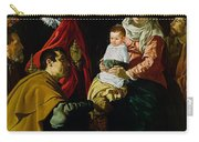 Adoration Of The Kings Carry-all Pouch