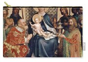 Adoration Of The Magi Altarpiece Carry-all Pouch by Stephan Lochner
