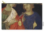 Adoration Of The Magi Fragment 1311 Carry-all Pouch