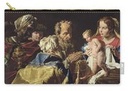 Adoration Of The Magi  Carry-all Pouch by Matthias Stomer