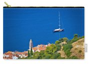 Adriatic Town Of Vis Sailing Destination Waterfront Carry-all Pouch