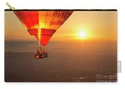 Adrift In The Mist At Sunrise Carry-all Pouch