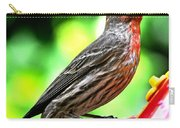 Adult Male House Finch Carry-all Pouch